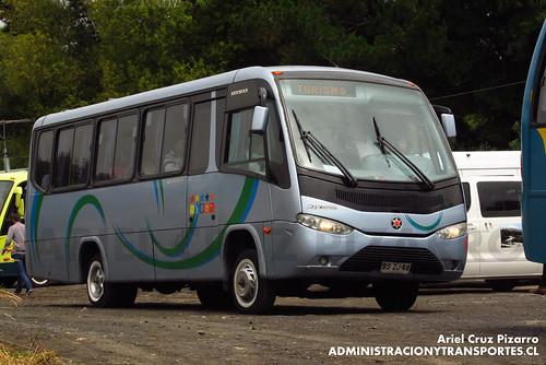 Bus Particular - Laguna La Poza - Marcopolo Senior / Volkswagen (BSZJ48)