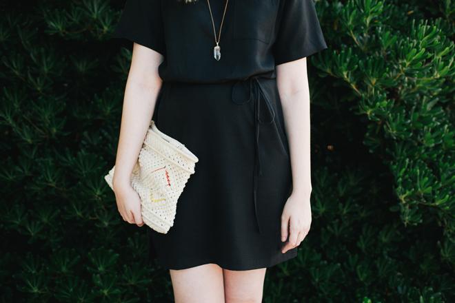 loft black dress2