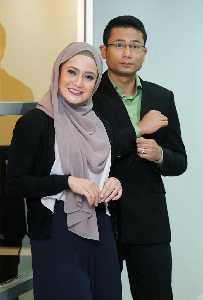 Tunku Nashrul & Nur Affiza Azmi Galas Tugas Baca Berita Global TV9