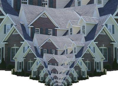 Triangle House  I liked how the triangle emerged out of