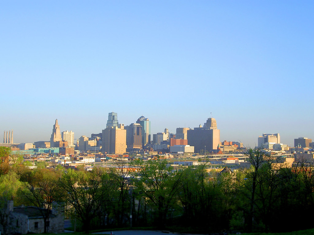 Kansas City Skyline Morning I Found This Spot About A