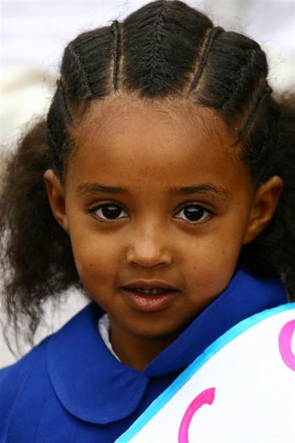 eritrea - pupil in asmara