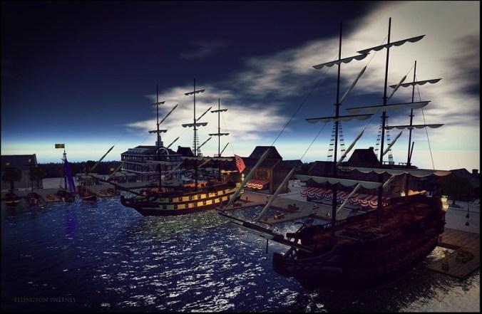 18th Century Boston Harbor