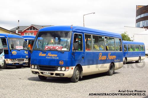 Buses Navarro - Castro - Mitsubishi Fuso Rosa (DPFL66)
