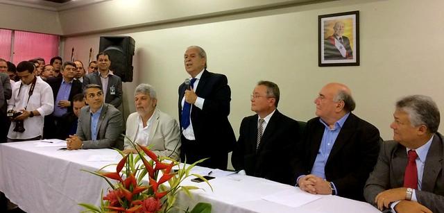 Presidente do PDT assume Secretaria de Agricultura e Pesca do Pará, Posse de Giovani Queiroz na Sedap