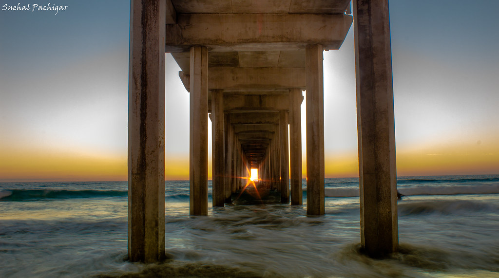 New Wallpaper Hd Scripps Pier Sunset La Jolla One Of Those Rare Moments