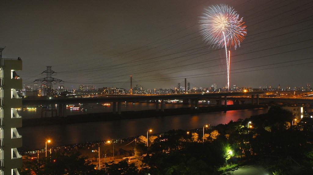 Koto Ward Hanabi Taikai Fireworks Festival