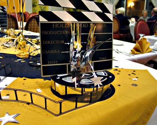 Oscar Night Table Decorations  We live at Willow Valley Ret  Flickr
