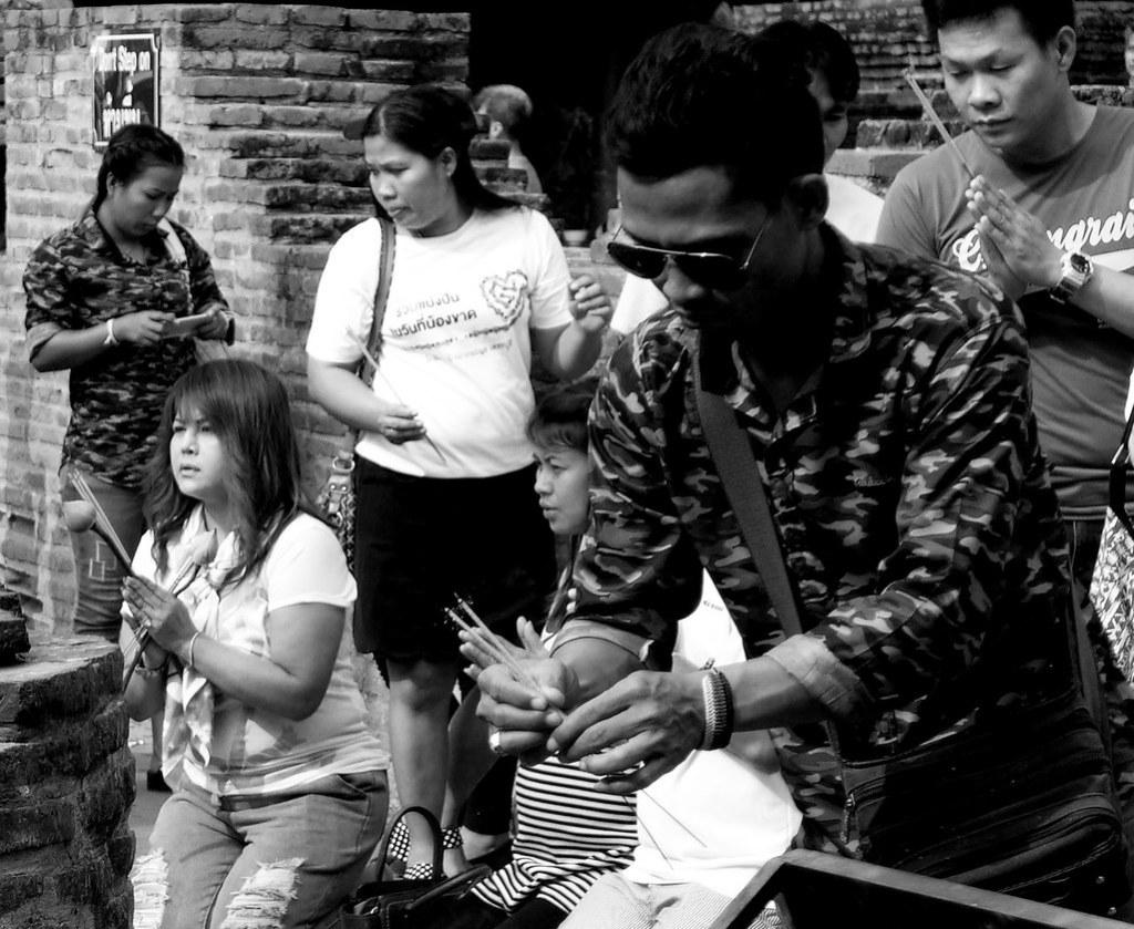 Thaïlande - Ayutthaya - 192 - Wat Yai Chai Mongkhon