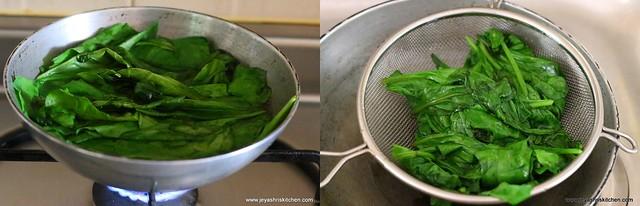 spinach paratha