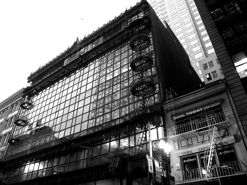 Hallidie Building San Francisco  Designed by Willis Polk   Flickr