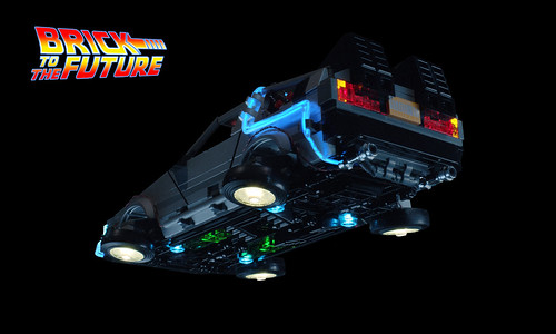 Flying Delorean Time Machine From Back To The Future Flickr