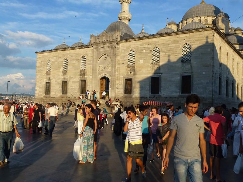 Turquie - jour 23 - Balades poétiques et visages stambouliotes - 170 - Yeni Camii, Eminönü