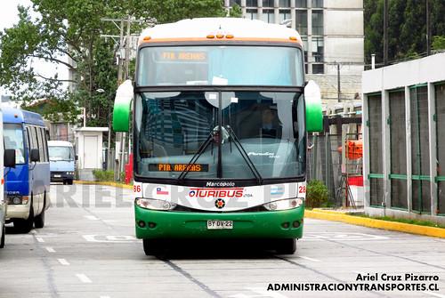 Turibus Internacional - Puerto Montt - Marcopolo Paradiso 1200 / Scania (BYDV22)
