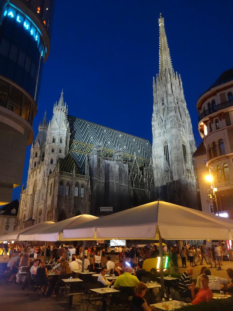 Wien 1 Bezirk larte delle chiese gotiche di Vienna S
