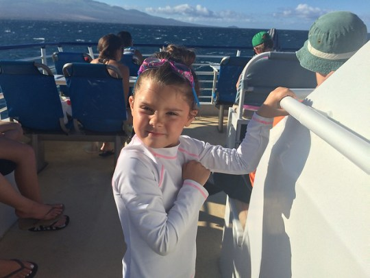 boat trip to molokini