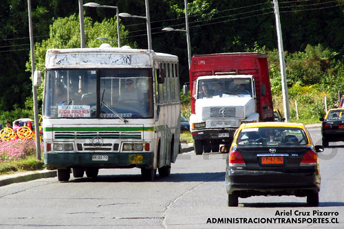 Buses Caulín - Ancud - Ciferal Padron Rio / Mercedes Benz (KK2570)