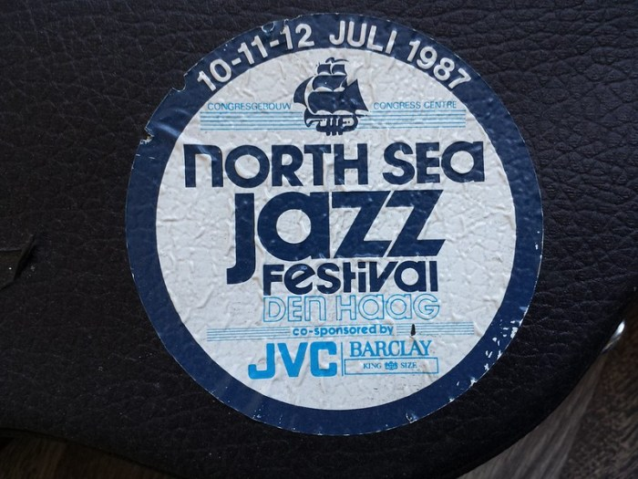 Mijn North Sea Jazz van 1987