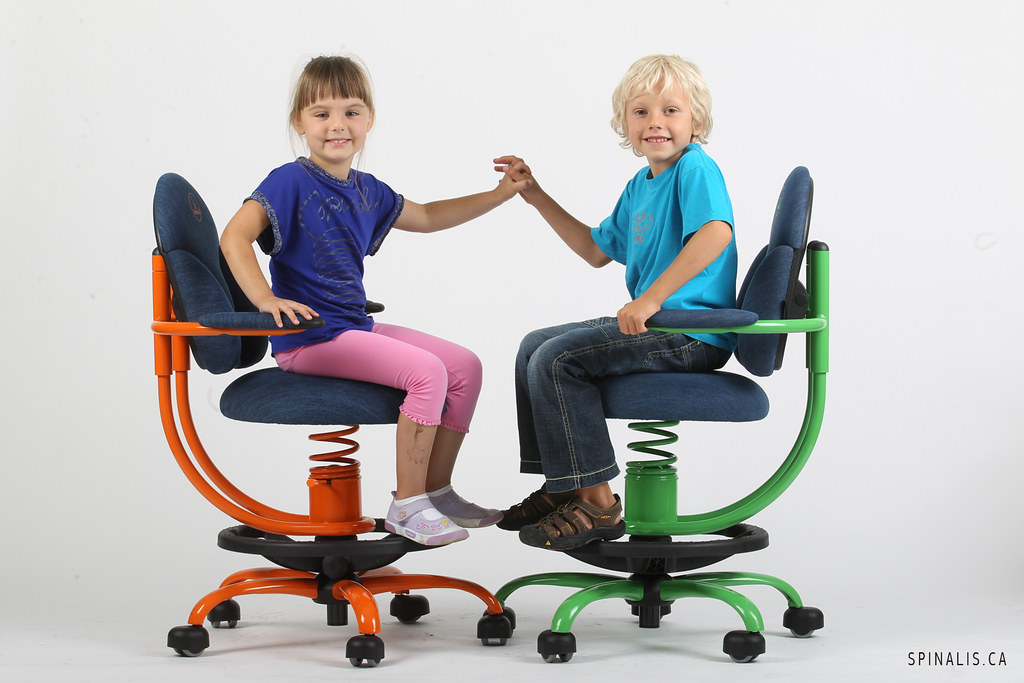 ergonomic chair good posture 2 table set for bedroom school kids encourages flickr spinalis basic series chairs in canada
