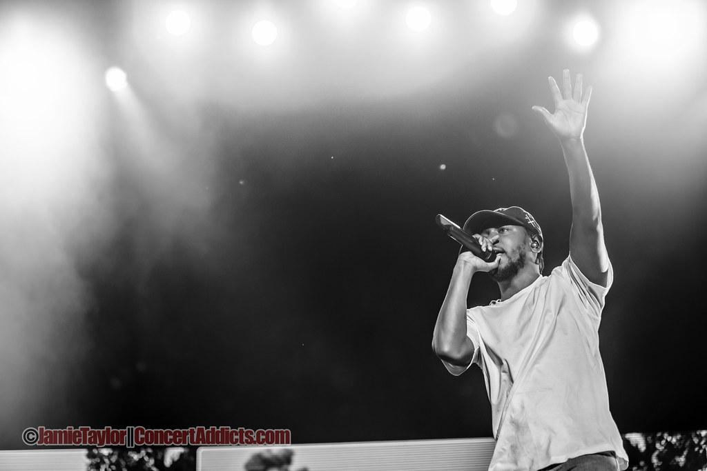 Kendrick Lamar Performing at Pemberton Music Festival in Pemberton, BC on July 2015