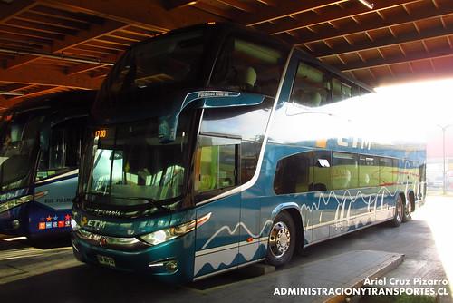 Buses ETM - Puerto Montt - Marcopolo Paradiso 1800 DD G7 / Scania (DWWB22)