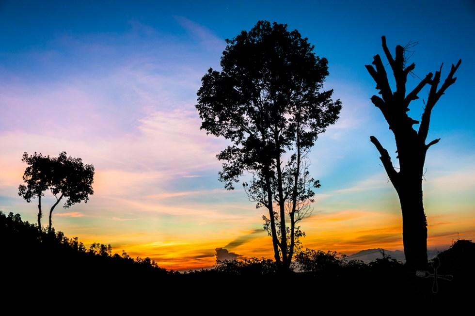 Sunrise at Hotel Sarangan