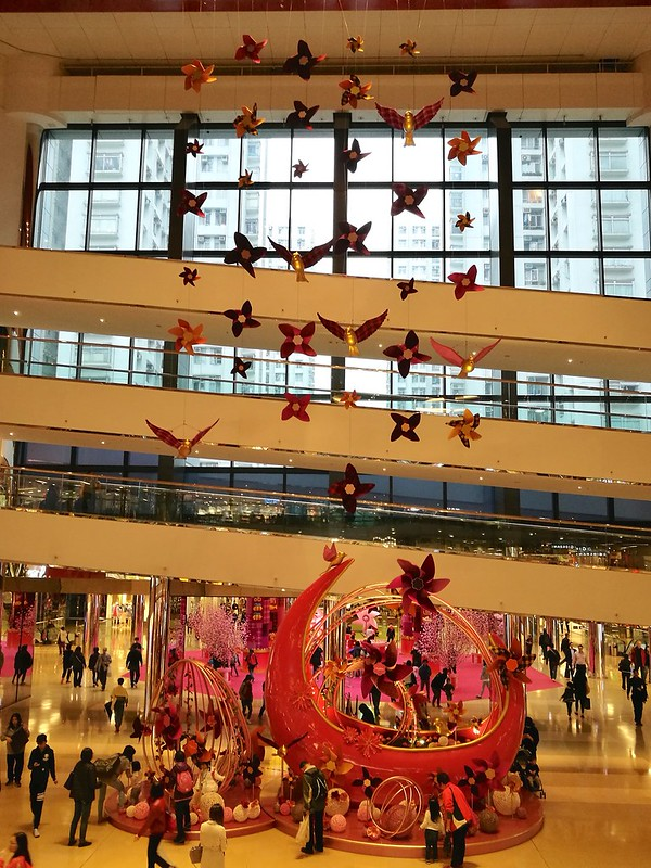 Chinese New Year Greetings at Cityplaza