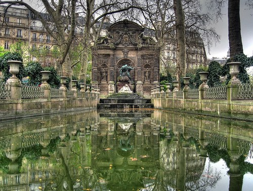 La fontaine Medicis  In the Luxembourg Garden the so