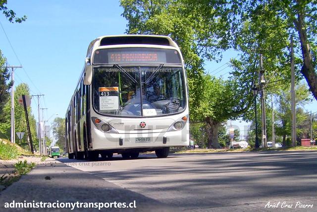Transantiago 413 | Express | Marcopolo Gran Viale - Volvo / ZN5823