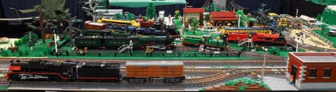 Brickvention 2017 - MLTC Train Layout