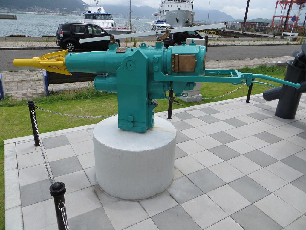 Whale harpoon gun  Whale harpoon gun Shimonoseki July