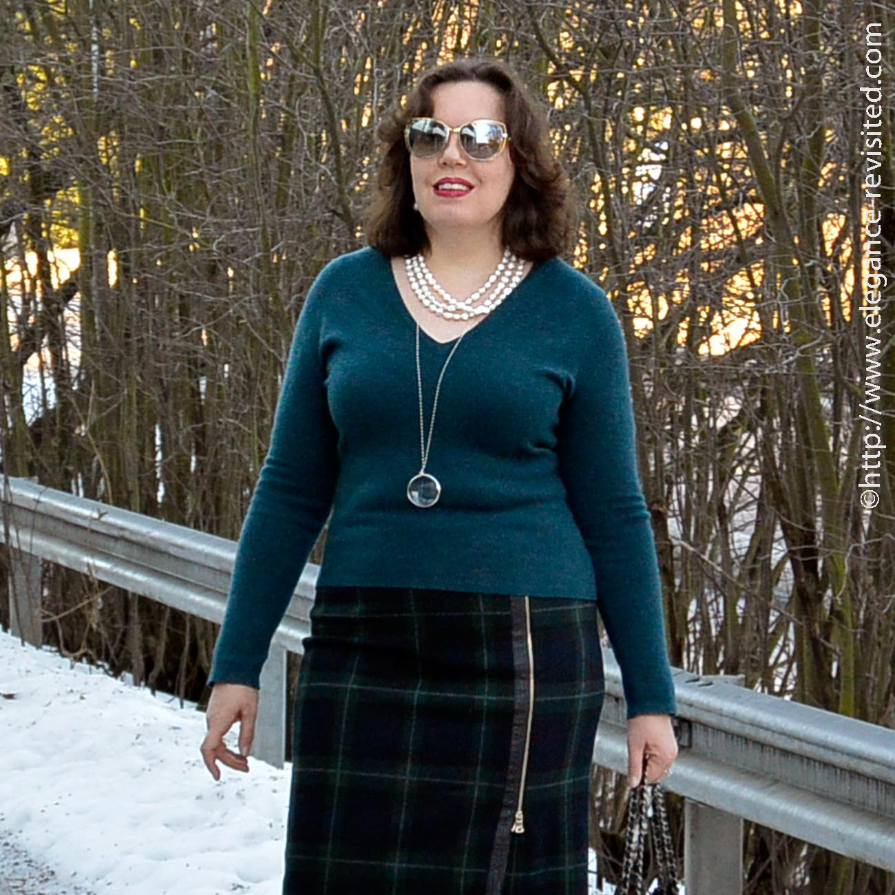 winter chic over 50