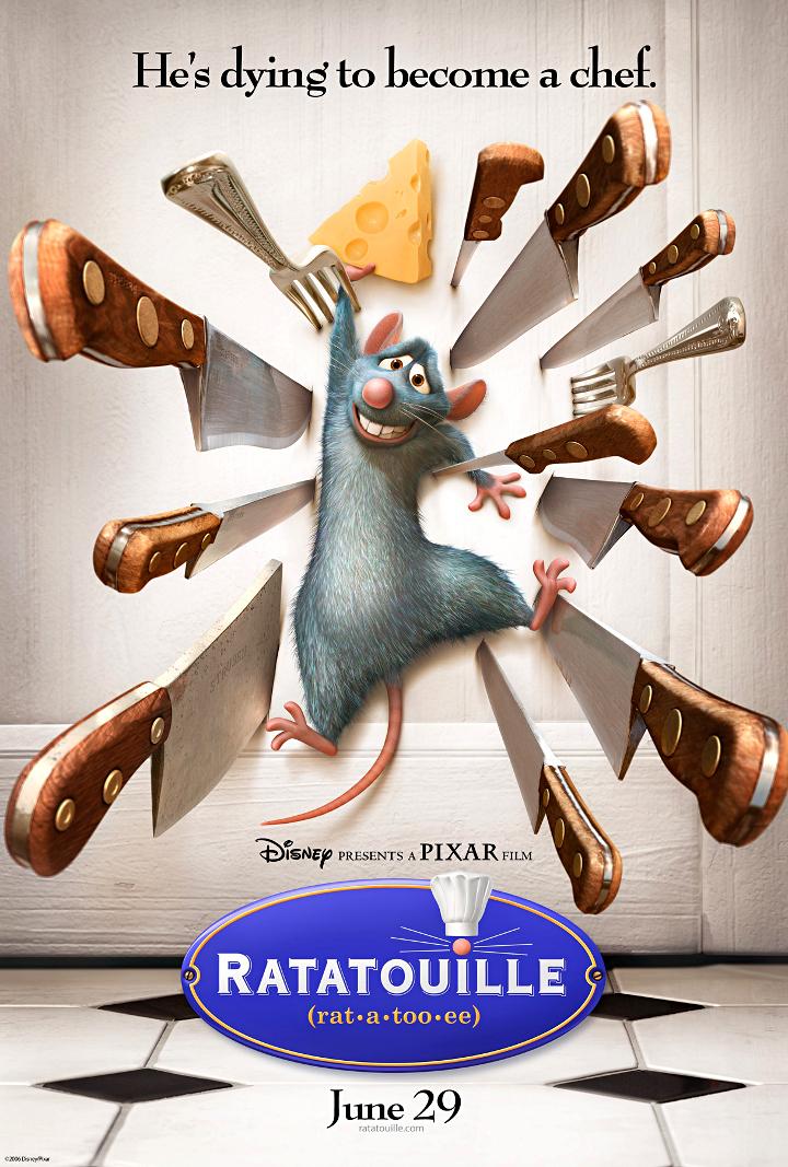 Pixar-perjantai: Rottatouille - Disnerd dreams