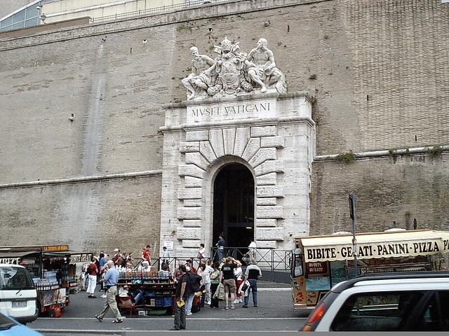 Vatican Museum Entrance  Vatican City Rome  L Allen Brewer  Flickr