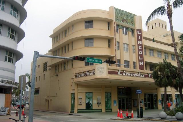 Miami Beach  South Beach Lincoln Road  Lincoln Theatre  Flickr