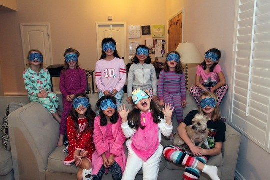 Annie's Slumber Party