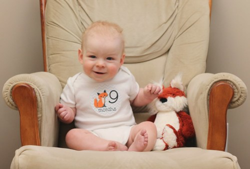 Jonathan is 9 Months Old!