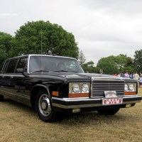 1985 ZiL 41045 Limousine at the 2015 Greenwich Concours