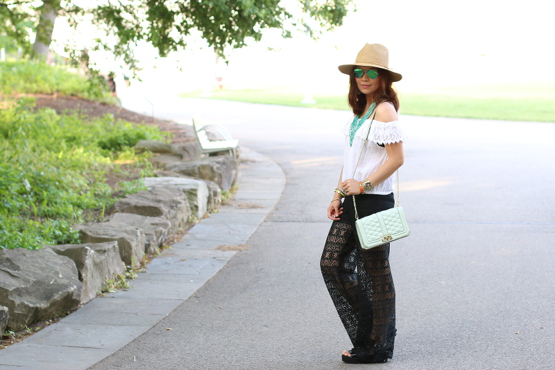 Summer-outfit-black-white-teal-10