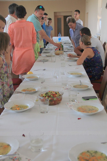A Slovak Party with lots and lots of food