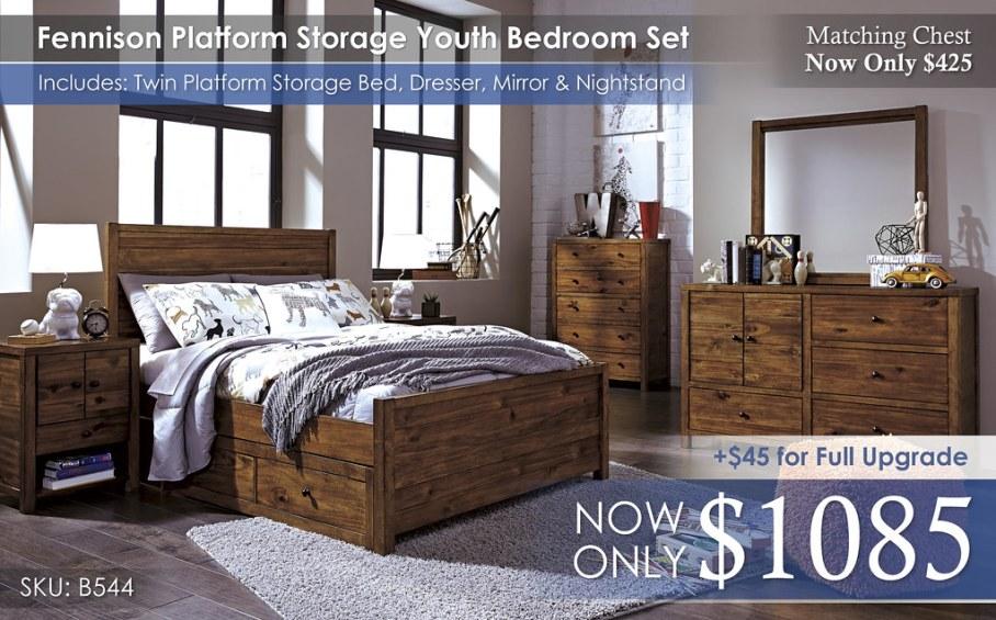 Fennison Platform Storage Youth Set B544