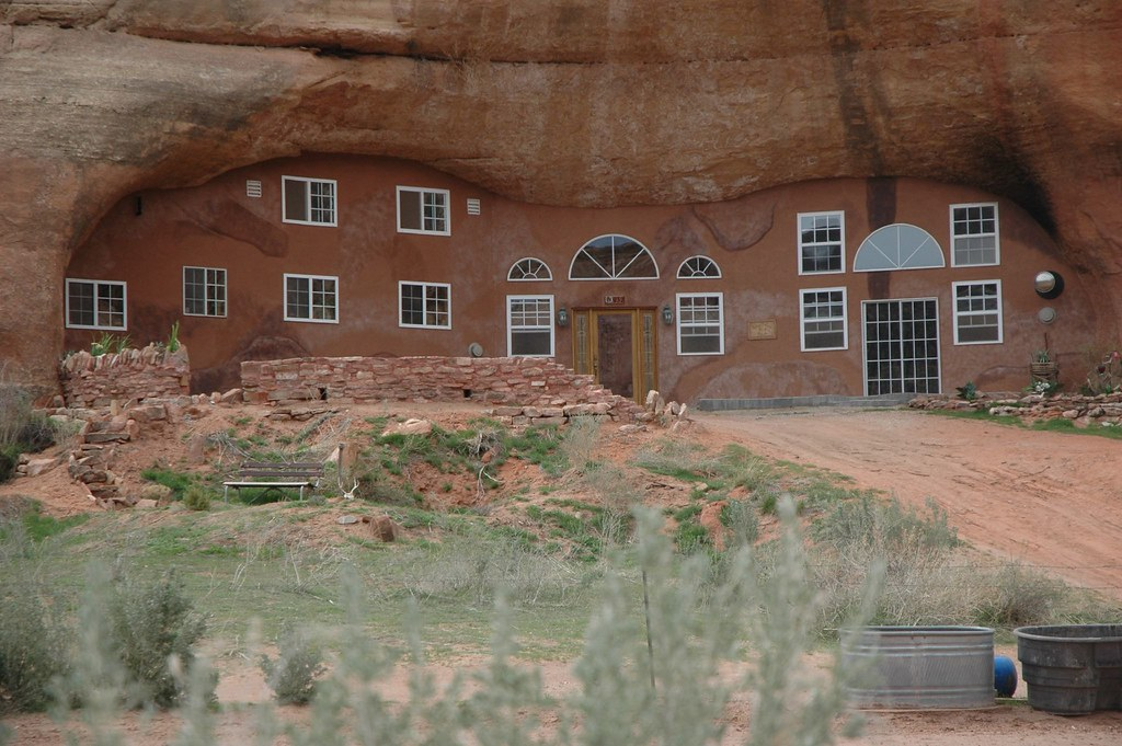 Modern Cliff Dwelling House  Montezuma Canyon Utah  Flickr