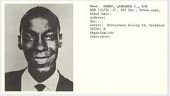 Montgomery mug shot photo of Laurence Henry: 1960