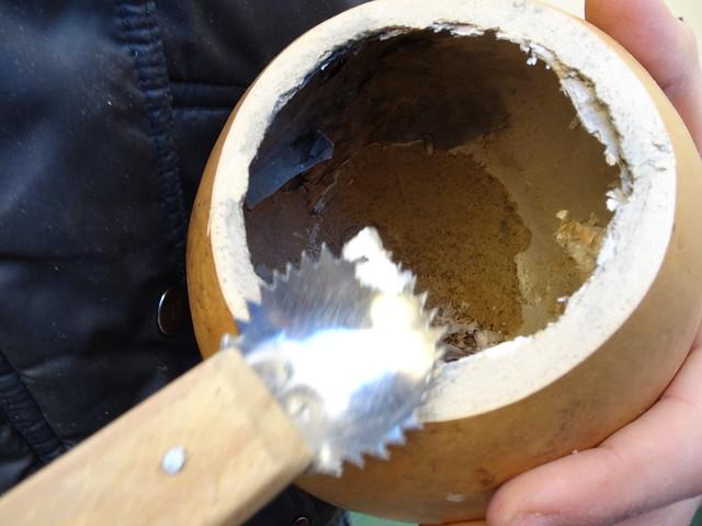 Limpiando el interior