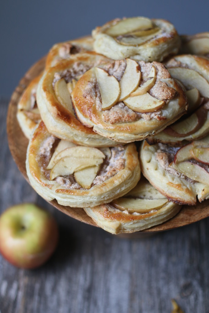 Almond Cream- Apple Tart |foodfashionparty|