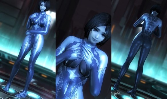 DOA5:LR - Cortana from Halo