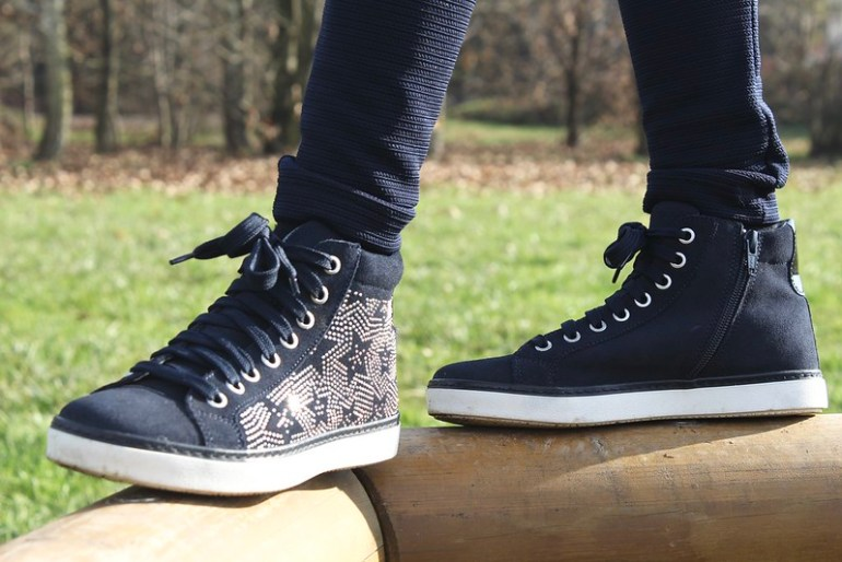 sneakers melania pelle scamosciata