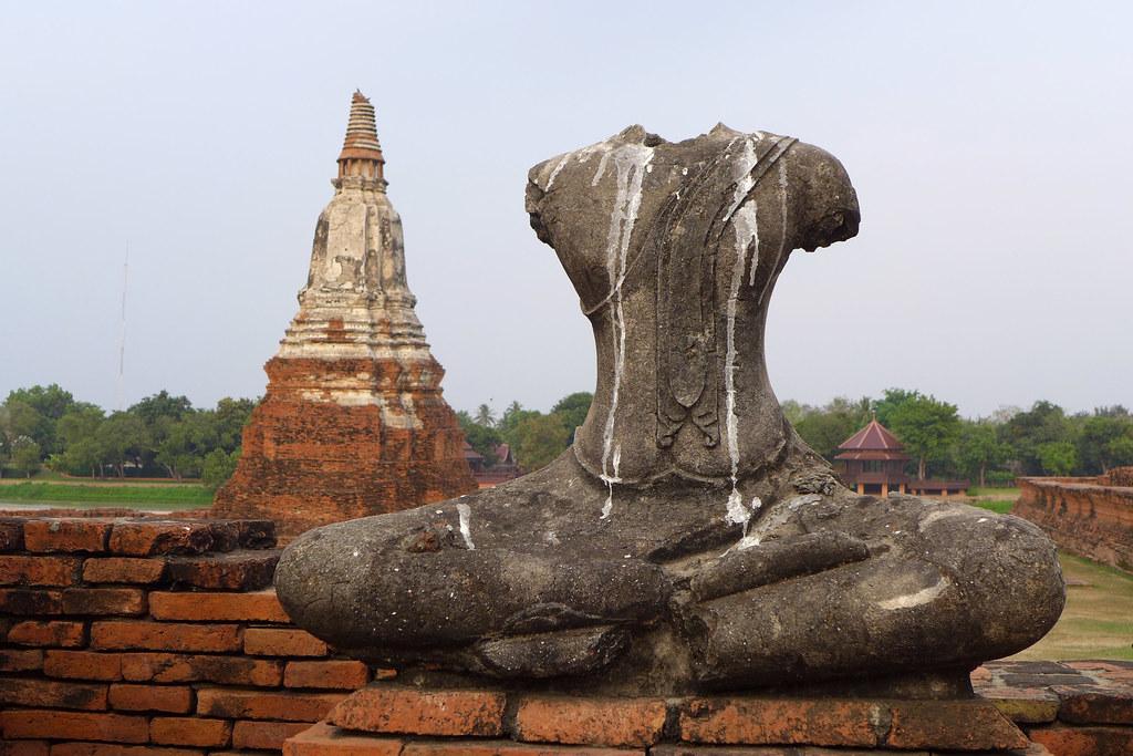 Thaïlande - Ayutthaya - 157 - Wat Chaiwatthanaram
