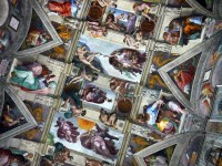 Sistine Chapel Ceiling | An illicit photo of the ceiling ...