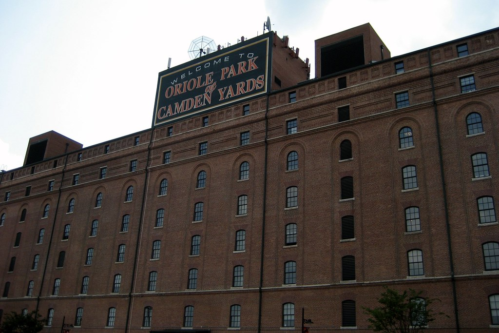 Baltimore  Camden Yards BO Warehouse  Oriole Park at